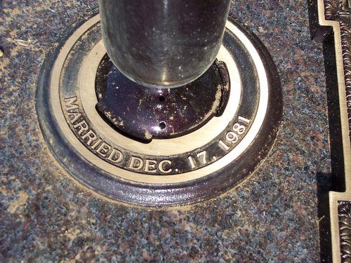 Detail of bottom of vase